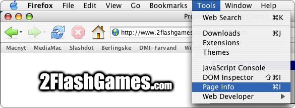 Finding Flash Games
