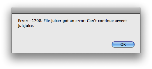 Read Me - File Juicer for Mac OS X