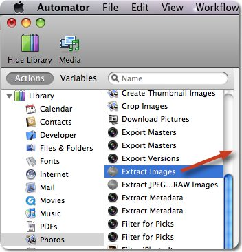 File Juicer - Save an Automator Workflow as a Finder Plugin